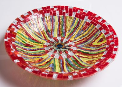 Mosaic-stained-glass-bowl